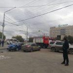 Жуткое ДТП в центре Кемерова: серьёзно пострадал человек