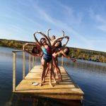 В Кузбассе моржи открыли осенний сезон плавания
