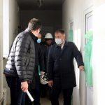 Илья Середюк проверил ход строительства детского сада в Рудничном
