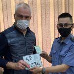 В Новокузнецке поставили номера на аттракцион