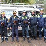 Кемеровские спасатели помогли получившей травму незрячей женщине
