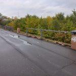 В Кемерове неизвестные украли перила набережной