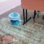 Новокузнечане жалуются на протекающую школьную крышу
