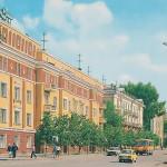 Улица Островского, перекрёсток с ул.Весенняя