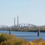 Железнодорожный мост в Кировском районе