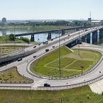 Вид с Красной горки на новый Кузнецкий мост