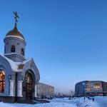Часовня святого преподобного Григория, чудотворца Киево-Печерского, бульвар Строителей