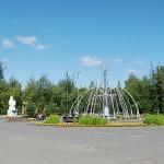У входа в парк Кузбасский