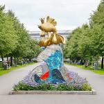 """""""Золотая рыбка"""" на аллее ул.Орджоникидзе"""