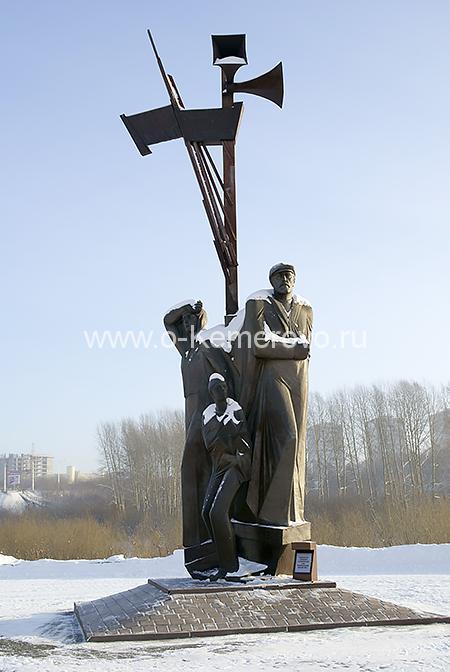 Памятник труженикам тыла. Кемерово