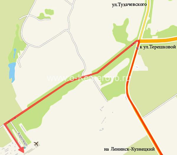 Как доехать до Кемеровского аэропорта