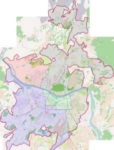 Карта Кемерово
