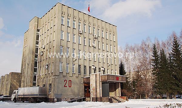 Здание Ленинского суда на пр.Химиков