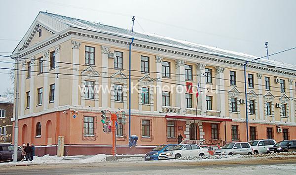 Здание суда Рудничного района на пр.Шахтеров