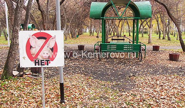 """Беседки в парке """"Кузбасский"""""""