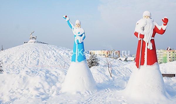 Парк Лесная сказка зимой