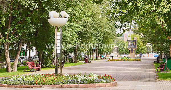 Улица Весенняя в городе Кемерово