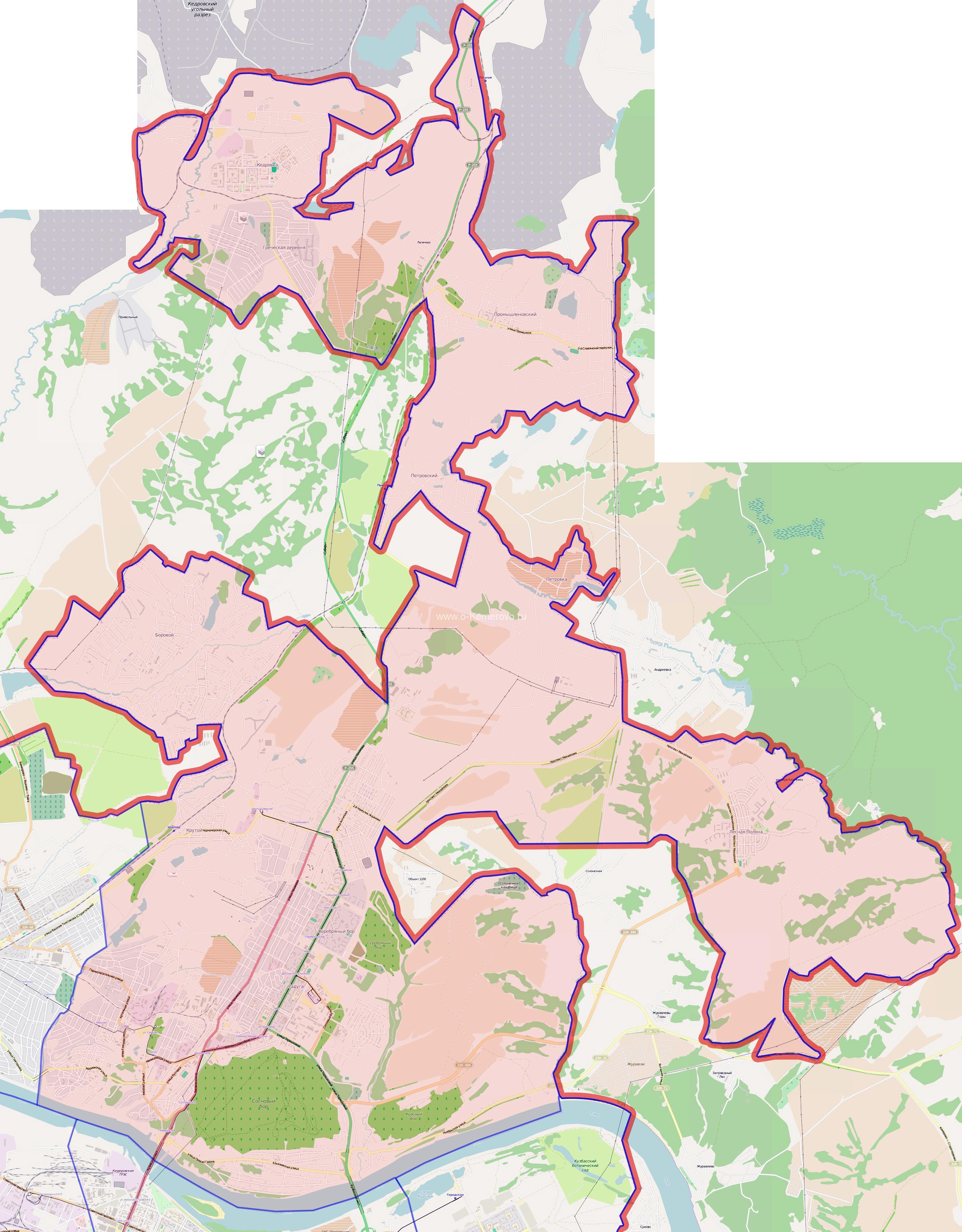 Рудничный район города Кемерово