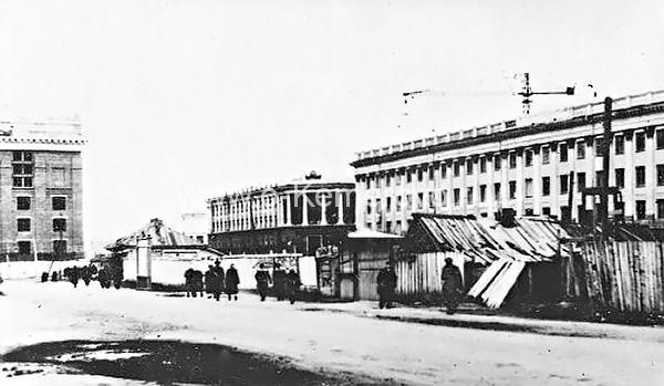 Площадь Советов, вид на управление ФСБ