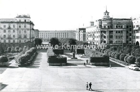 Площадь Пушкина, 60-е годы