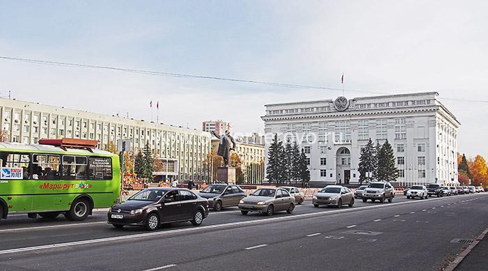 Площадь Советов - главная площадь Кемерово