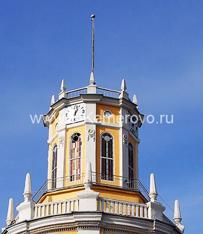 Кемерово, Площадь Советов, Главпочтамт