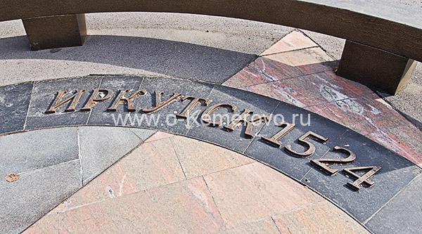 Площадь Советов, знак нулевого километра