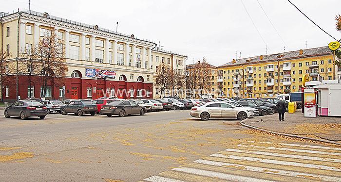 Площадь Волкова в Кемерово