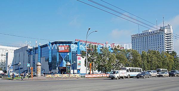 """ТРК """"Променад-1"""" и гостиничный комплекс """"Кристалл"""" в Кемерово"""