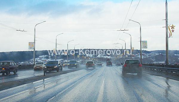 """Улица Терешковой, мост """"Кузбасский"""""""