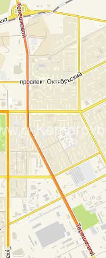 Улица Терешковой от пр.Притомского до пр.Химиков