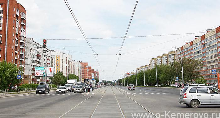 Проспект Шахтеров в районе Серебряного бора