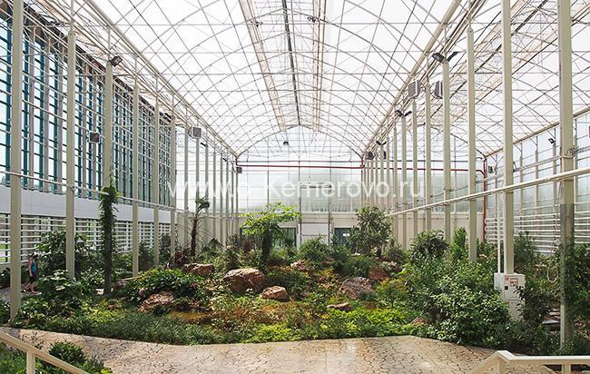 Ботанический сад на Лесной Поляне в Кемерово