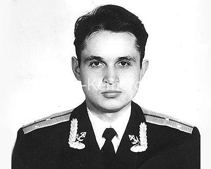 Сергей Цивилёв во время службы на флоте