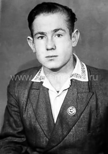 Алексей Леонов в молодые годы
