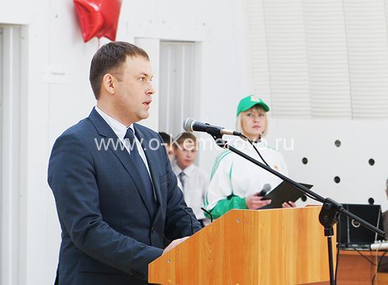 Илья Середюк в бытность Главой Кемеровского муниципального района