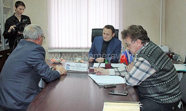 Федяев Павел Михайлович ведет прием граждан