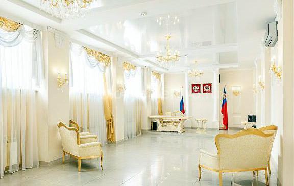 Зал для торжественной регистрации брака в ЗАГСе Ленинского района Кемерово