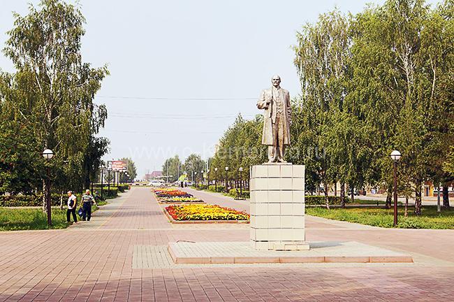 Памятник Ленину на аллее ул.Юбилейная, Белово