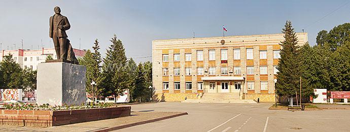 Здание администрации г. Гурьевск, Кемеровская область