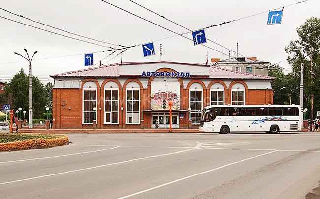 Автовокзал г. Ленинска-Кузнецкого, Кемеровская область
