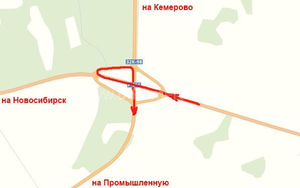 Дорога из Кемерово на Танай