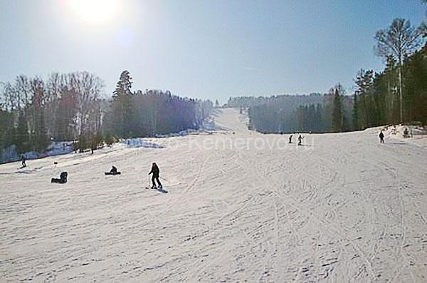 «Золотая гора» - горнолыжный комплекс в Кемеровской области