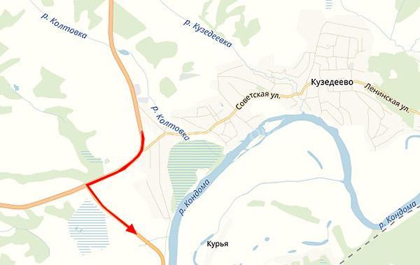 Как доехать на машине от Кемерово до Шерегеша