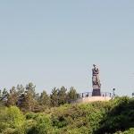 Монумент Память шахтерам Кузбасса
